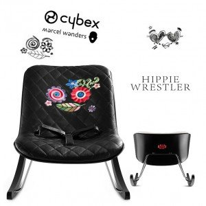 Cybex Стол Rocker Hippie Wrestler black